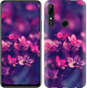 Чехол на Huawei P Smart Z Пурпурные цветы