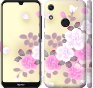 Чехол на Huawei Honor 8A Японские цветы