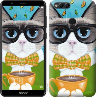 Чехол на Huawei Honor 7X CatandCoffee