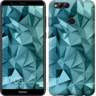 Чехол на Huawei Honor 7X Геометрический узор v2