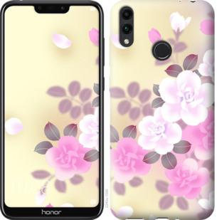 Чехол на Huawei Honor 8C Японские цветы