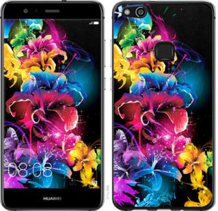 Чехол на Huawei P10 Lite Абстрактные цветы