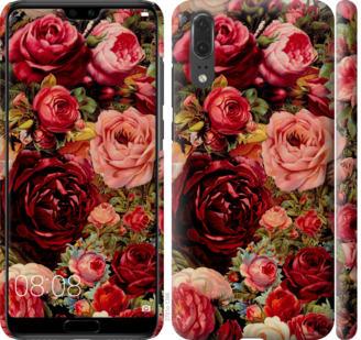 Чехол на Huawei P20 Цветущие розы