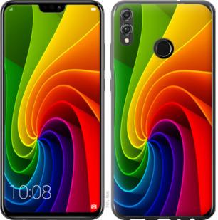Чехол на Huawei Honor 8X Радужный вихрь