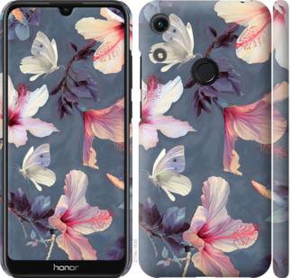 Чехол на Huawei Honor 8A Нарисованные цветы