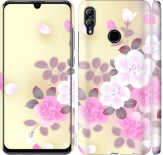 Чехол на Huawei Honor 10 Lite Японские цветы