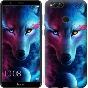Чехол на Huawei Honor 7X Арт-волк