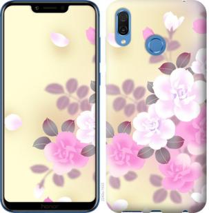 Чехол на Huawei Honor Play Японские цветы