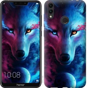 Чехол на Huawei Honor 8C Арт-волк
