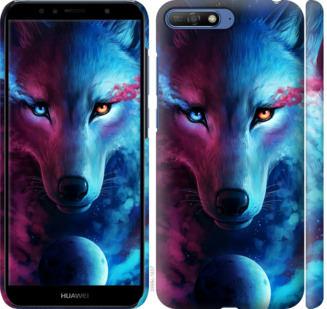 Чехол на Huawei Honor 9 Арт-волк