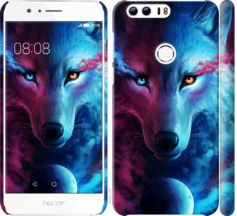 Чехол на Huawei Honor 8 Арт-волк
