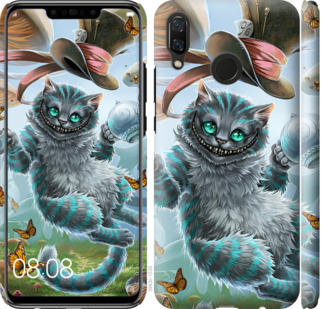 Чехол на Huawei Nova 3 Чеширский кот 2