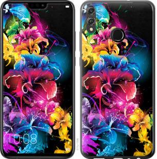 Чехол на Huawei Honor 8X Абстрактные цветы