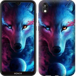 Чехол на Huawei Honor 8S Арт-волк