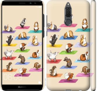 Чехол на Huawei Mate 10 Lite / Honor 9i Йога морских свинок