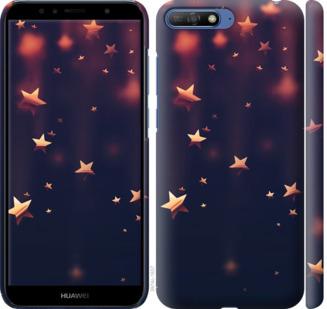 Чехол на Huawei Y6 2018 Падающие звезды