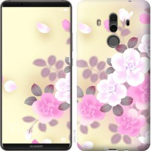 Чехол на Huawei Mate 10 Pro Японские цветы