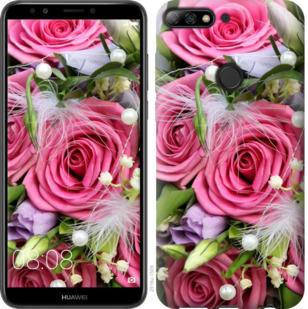 Чехол на Huawei Y7 Prime 2018 Нежность