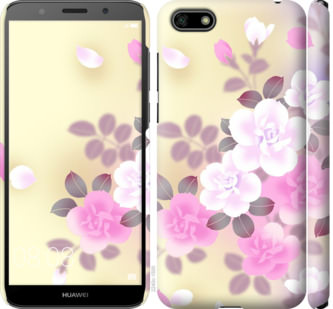 Чехол на Huawei Y5 2018 Японские цветы