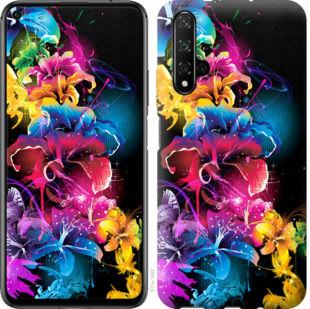 Чехол на Huawei Honor 20 Абстрактные цветы