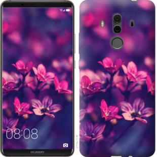 Чехол на Huawei Mate 10 Pro Пурпурные цветы
