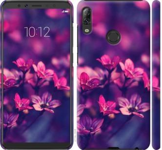Чехол на Lenovo K5 Pro Пурпурные цветы