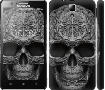 Чехол на Lenovo A536 skull-ornament