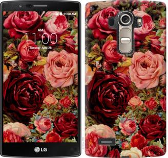 Чехол на LG G4 H815 Цветущие розы