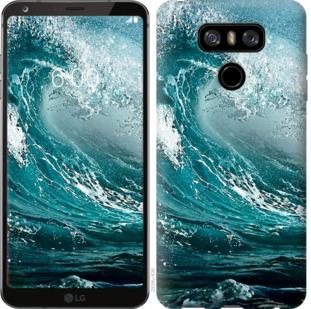 Чехол на LG G6 Морская волна