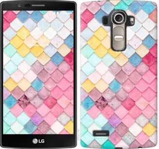 Чехол на LG G4 H815 Красочная черепица