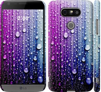 Чехол на LG G5 H860 Капли воды