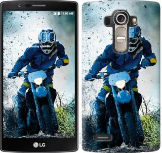 Чехол на LG G4 H815 Мотокросс