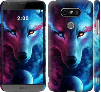 Чехол на LG G5 H860 Арт-волк