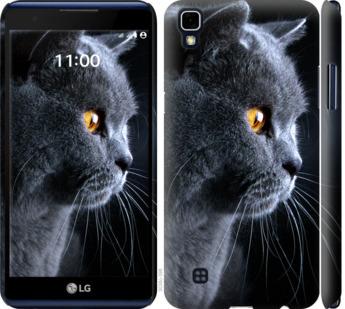 Чехол на LG X Power K220DS Красивый кот