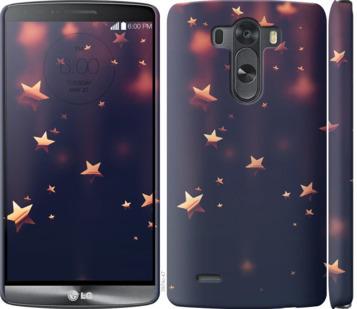 Чехол на LG G3 D855 Падающие звезды