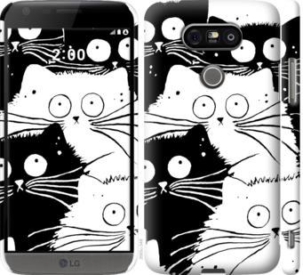 Чехол на LG G5 H860 Коты v2