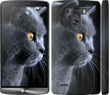 Чехол на LG G3 D855 Красивый кот