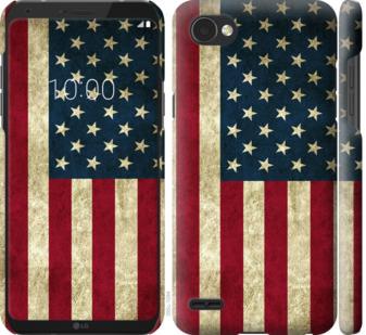 Чехол на LG Q6 Флаг США