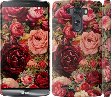 Чехол на LG G3 D855 Цветущие розы