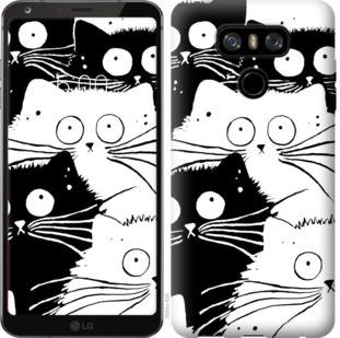 Чехол на LG G6 Коты v2