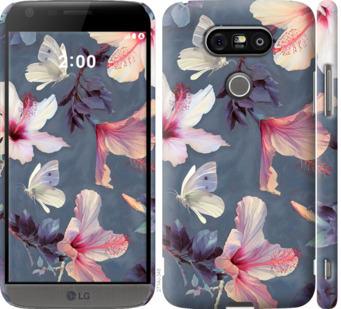 Чехол на LG G5 H860 Нарисованные цветы