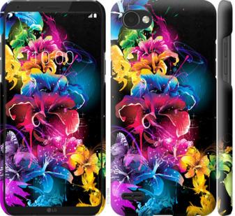 Чехол на LG Q6 Абстрактные цветы