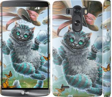 Чехол на LG G3 D855 Чеширский кот 2