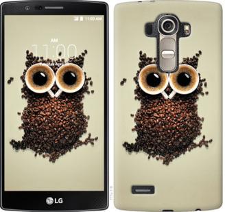Чехол на LG G4 H815 Сова из кофе