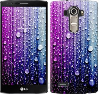Чехол на LG G4 H815 Капли воды