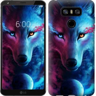 Чехол на LG G6 Арт-волк
