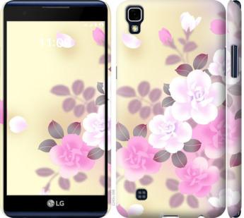 Чехол на LG X Power K220DS Японские цветы