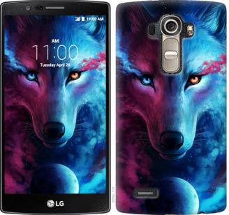 Чехол на LG G4 H815 Арт-волк