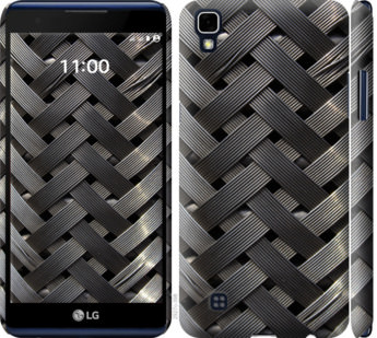 Чехол на LG X Power K220DS Металлические фоны