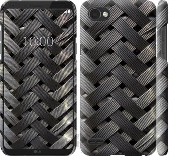 Чехол на LG Q6 Металлические фоны